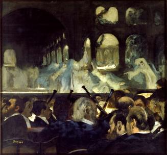 """Degas """"Ballet of the Nuns"""" from Robert le Diable"""